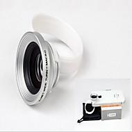 universele klem 3 in 1 groothoek lens voor iphone / ipad / samsung telefoon