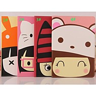 Cartoon Lovely Hat Leather Smart Case Cover Stand for Apple iPad 5 Air(Assorted Colors)