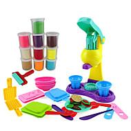 yiqisi ugiftige modellervoks 3d farve ler sæt med 10 kopper 34 modes intelligent legetøj