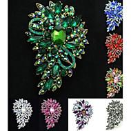 upea strassi drop kukka kukka rintaneula puheeksi pin naisten puolue (lisää värejä)
