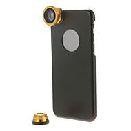 Kit de lentille 3-en-1 avec étui de mobile pour iPhone 6 plus (couleurs assorties)