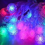 JIAWEN® 4M 20LEDs RGB LED Snowball String Lights Christmas String Light for Decoration (AC 110-220V)