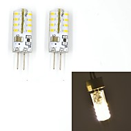 Bi-pin Lights , G4 W 32 SMD 3014 100~120 LM Warm White/Cool White V