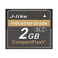 j-like® CompactFlash de grado industrial tarjeta de memoria 2gb chips SLC