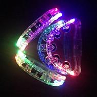 LED 색상 변화 빛나는 핸드 벨 할로윈 소품 (임의의 색상 x1pcs)