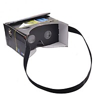 """google karton podłubać rzeczywistości wirtualnej VR telefon komórkowy 3d okulary z funkcją NFC tag dla 4-5,6 """"smartphone ekranu"""