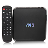 Amlogic M8 Mini PC Quad Core Android TV Box Android 4.4 Cortex A9 KiKat 2 Go de RAM 8GB 4K Video Bluetooth HDMI WiFi Media Player