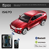 i-contrôle bluetooth licence bmw voiture x6 pour iPhone, iPad et Android is670