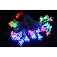 5W 20-LED 3-Mode RGB Colorful Christmas Bell Model String Light (220V / 2-Round-Pin Plug)