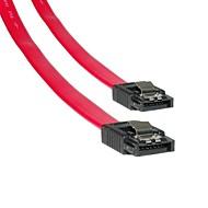 1m 3.2ft nuova scheda madre SATA Serial connettore del cavo dati dell'unità disco fisso hd rosso