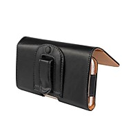 Solid Color PU Leather Case with Waist Clip for Sony Xperia Z3
