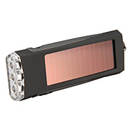 Solarenergie LED Taschenlampe Schlüsselanhänger