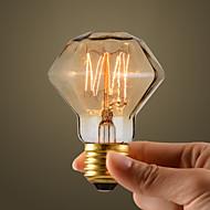 40W Industria Retro Style lampadina a incandescenza, figura del diamante