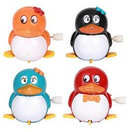 Walk the pingvin urværk børns legetøj (farve tilfældig)