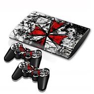 b-Skin® PS3 Slim 4000 konsol beskyttende sticker dækning mærkat hud controller hud