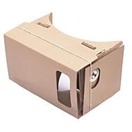 diy karton virtual reality 3D-bril voor iPhone 5s / Samsung Galaxy S4 mini / s3 mini / nokia / lg / moto
