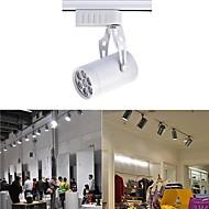 Luces de Rail Rotatoria 7 W 7 LED de Alta Potencia 0 LM Blanco Cálido / Blanco Natural / Blanco Fresco AC 85-265 V