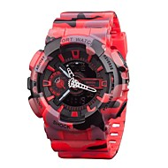 Men's Sports Watches Fashion Outdoor LED Digital Quartz Multifunction Waterproof Military Watch (Assorted Colors)