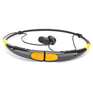 hovedtelefon bluetooth 4,0 halskanten med mikrofon sport stereo trådløst til telefoner