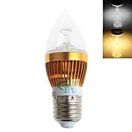 5W E26/E27 Luci LED a candela C35 15 SMD 2835 450 lm Bianco caldo / Luce fredda Decorativo AC 220-240 V