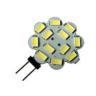 3W G4 Lâmpadas de Foco de LED 12 SMD 5630 250-270LM lm Branco Natural DC 12 V