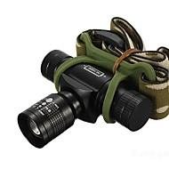 Hoofdlampen (Verstelbare focus / Waterdicht / Oplaadbaar / Schokbestendig) - LED 3 Mode 350/150/100 Lumens 14500 / AA Cree XR-E Q5
