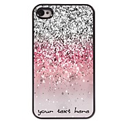 Personalized Phone Case - Shimmering Powder Design Metal Case for iPhone 4/4S