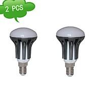 Lâmpadas de Foco (Branco Quente E14 - 8 W- R 720 lm- AC 85-265 V- 2 Pças.