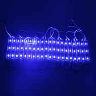 IP65 Waterproof 0.6W 5050SMD Blue Light LED Module Hard Strip Bar Light Lamp (DC 12V, 20pcs)