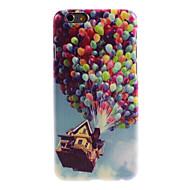 Voor Patroon hoesje Achterkantje hoesje Ballon Hard PC voor AppleiPhone 7 Plus iPhone 7 iPhone 6s Plus/6 Plus iPhone 6s/6 iPhone SE/5s/5