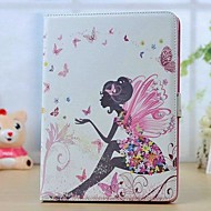 High Quality Lovely Girl Rhinestone Tablet Case with Stand for iPad Air
