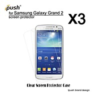 High Transparency HD LCD Screen Protector for Samsung Galaxy Grand 2 (3 Pieces)