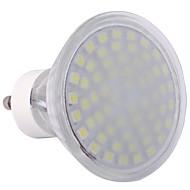 gu10 3.5W 60x3528smd 300lm fredda luce calda / bianco ha condotto la lampadina spot (220-240V)