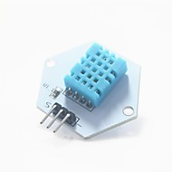 digital temperatur / luftfuktighet måletestmodulen for Arduino - hvit + blå