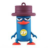 zp Karikatur platypus Charakter 16 GB USB-Flash-Laufwerk