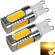 G9 7 W 5 COB 550 LM Warm White T Corn Bulbs AC 220-240 V