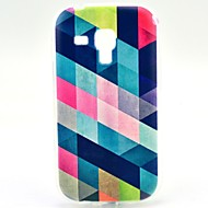 Varten Samsung Galaxy kotelo Kuvio Etui Takakuori Etui Geometrinen printti TPU Samsung Trend Duos