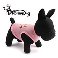 DroolingDog® Lovely DOG Pattern Terylene Vest for Dogs (Assorted Colors Assorted Sizes)