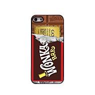 caso difícil design em alumínio chocolate para iPhone 5 / 5s