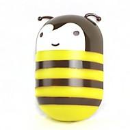 200lm l'abeille décoration 2W lampe led blanc chaud d'économie d'énergie lumineuse de détection de mur