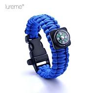 Survival Whistle / Survival Bracelet Survival / Whistle Hiking Nylon Yellow / Pink / Blue - Lureme