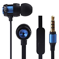 JTX-JL580 3.5mm Noise-Cancelling Mike in-ear Earphone for Iphone and Other Phones(Assorted Colors)