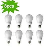 8-Pack H+LUX™ CFL A65 E27 23W 1300lm CRI>80 2700K Warm White Globe Bulb (AC220-240V) = 150W Incandescent