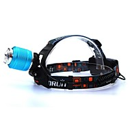 CREE T6 LED Headlight Glare Headlights Rotate The Focus Straight Rechargeyour Fishing Hunting Lights