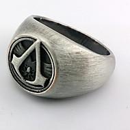 Smykker Inspireret af Assassin's Creed Cosplay Anime / Videospil Cosplay Tilbehør Ring Sølv Legering Mand