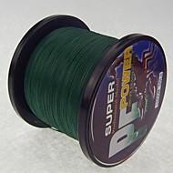 1000M / 1100 Yards Żyłka polietylenowa pleciona / Dyneema Vlasce Dark Green 30 lb / 50 lb / 40 lb / 45 lb 0.26mm,0.29mm,0.30mm,0.32mm mm