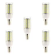 15W E14 LED-glødepærer 69 SMD 5730 1500 lm Naturlig hvit AC 220-240 V 5 stk.