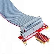 26 pin määritelty datakaapeli ja t GPIO laajennuskortti lisävaruste vadelma pi b +