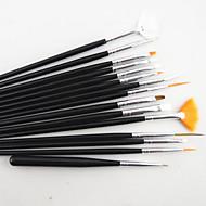 15szt szczotki paznokci zestaw z 5szt rozsianych narzędzia