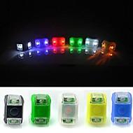 Fahrradrücklicht LED Radsport Wasserdicht / Einfach zu tragen CR2032 Lumen Batterie Radsport-FJQXZ®